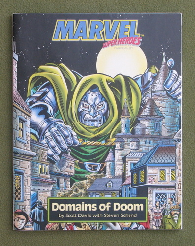 Image for DOMAINS OF DOOM: Lands of Dr. Doom (Marvel Super Heroes)