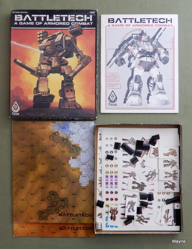 Image for Battletech: A Game of Armored Combat (2nd Edition) - PLAY SET