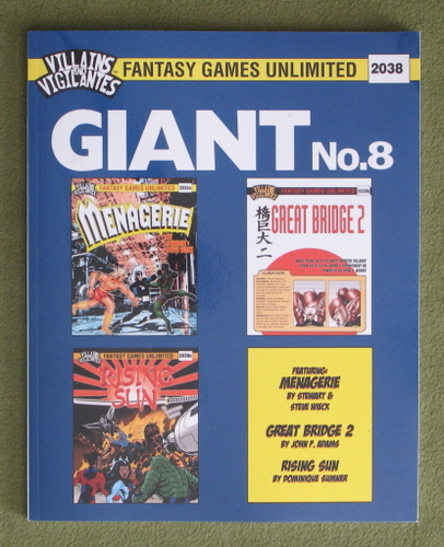 Image for Villains and Vigilantes: Giant No. 8
