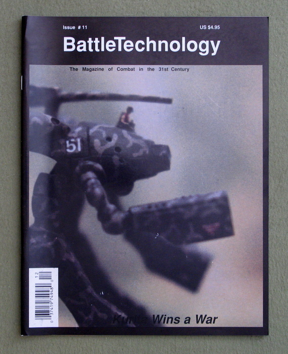 Image for BattleTechnology Magazine, Issue 11 (Battletech)