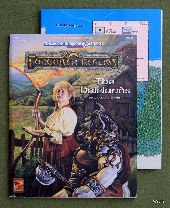 Image for The Dalelands (Advanced Dungeons & Dragons: Forgotten Realms Accessory FRS1)
