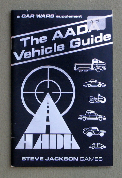 Image for The AADA Vehicle Guide (Car Wars)