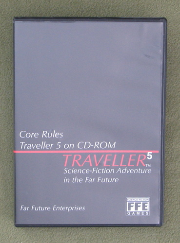 Image for Traveller 5 on CD-ROM