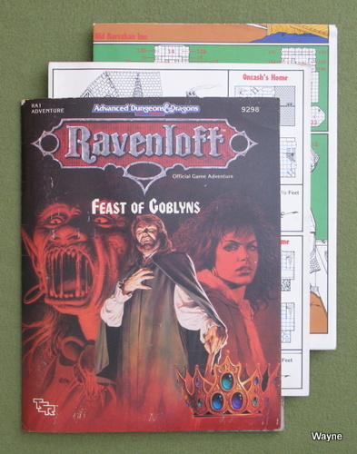 Image for Feast of Goblyns (AD&D Ravenloft RA1) - NO POSTER