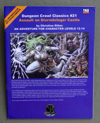 Image for Assault on Stormbringer Castle (Dungeon Crawl Classics 21)