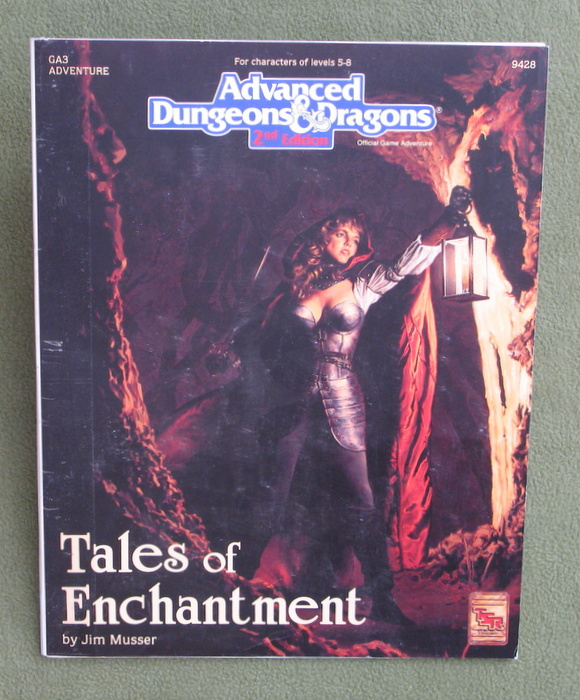 Image for Tales of Enchantment (AD&D Module GA3) - PLAY COPY
