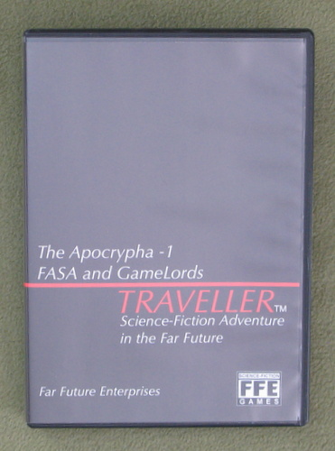 Image for Traveller Apocrypha-1: FASA and Gamelords