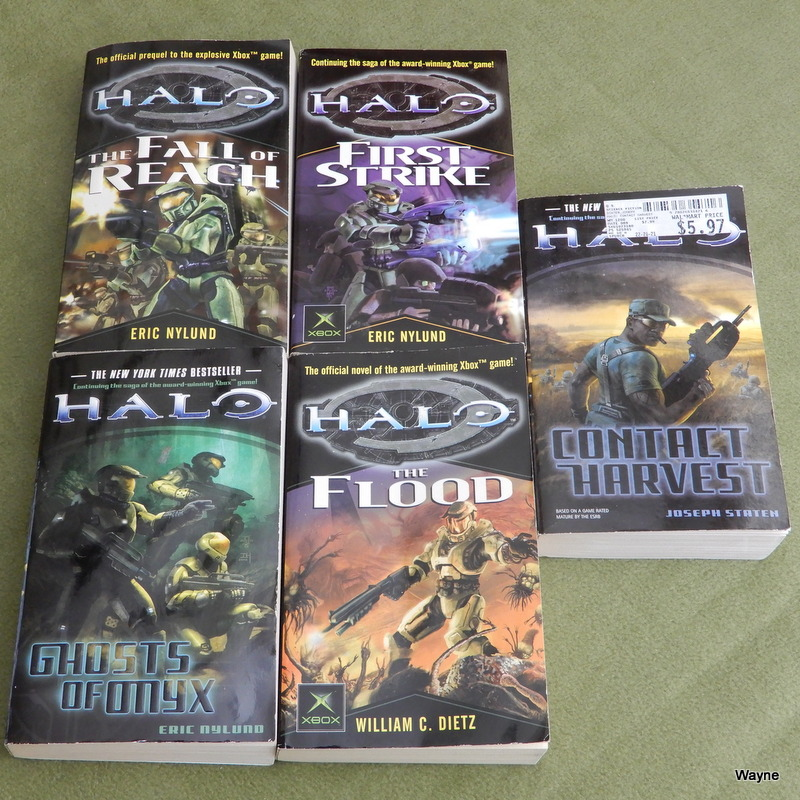 Image for HALO 5 Book Set: The Fall of Reach, First Strike, Ghosts of Onyx, The Flood, Contact Harvest