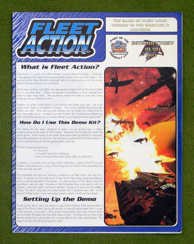 Image for Fleet Action: Introductory Demo Kit