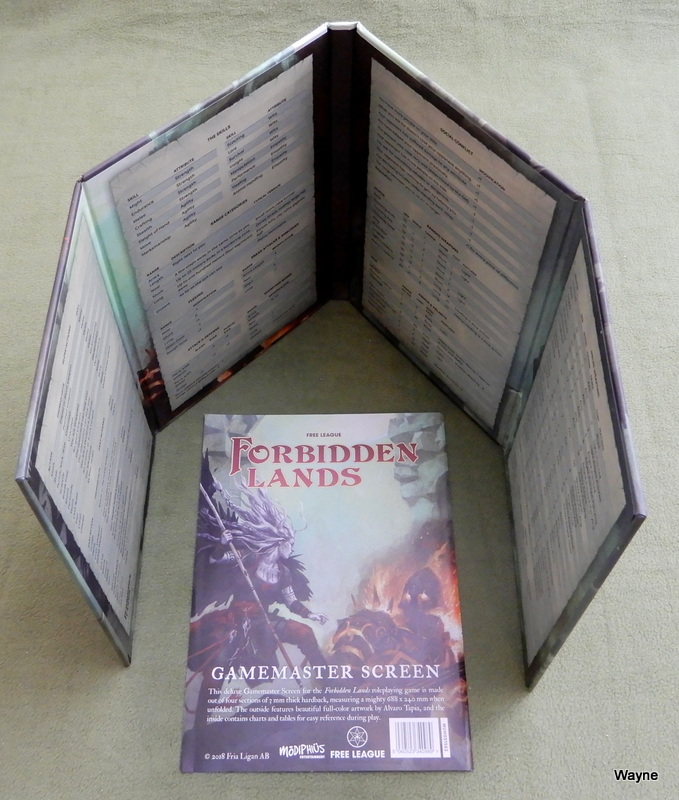 Image for Gamemaster Screen (Forbidden Lands RPG)
