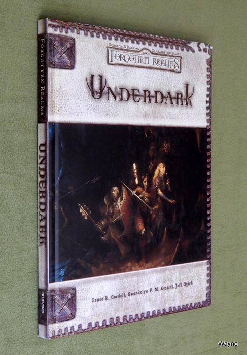 Image for Underdark (Dungeons & Dragons d20 Fantasy Roleplaying, Forgotten Realms Accessory)