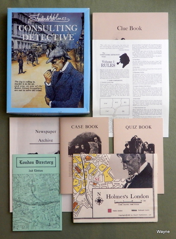 Image for Sherlock Holmes Consulting Detective