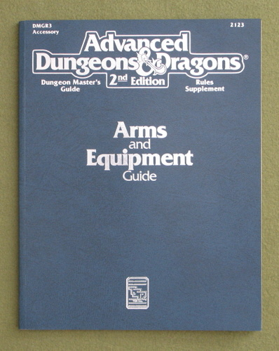 Image for Arms & Equipment Guide (Advanced Dungeons & Dragons Accessory DMGR3)