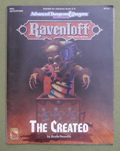 Image for The Created (Advanced Dungeons & Dragons: Ravenloft Adventure RM2)
