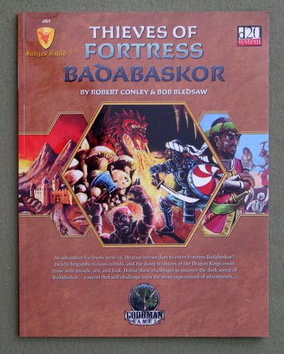 Image for Thieves of Fortress Badabaskor (Dungeons & Dragons d20 3.5 Fantasy Roleplaying JG1)