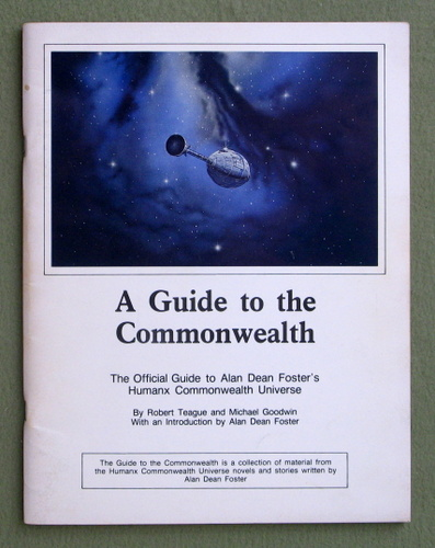 Image for A Guide to the Commonwealth: The Official Guide to Alan Dean Foster's Humanx Commonwealth Universe