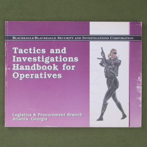 Image for BlackEagle Tactics and Investigations Handbook for Operatives (Millennium's End)