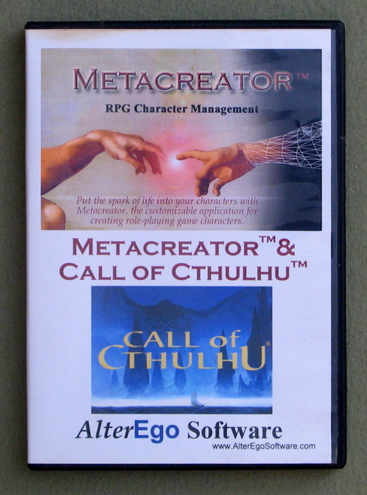 Image for Metacreator: Call of Cthulhu (RPG Character Management)