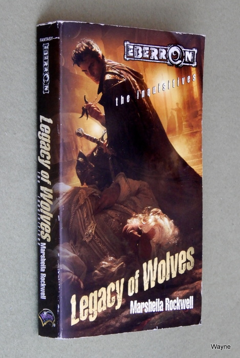 Image for Legacy of Wolves (Eberron: The Inquisitives, Book 3)