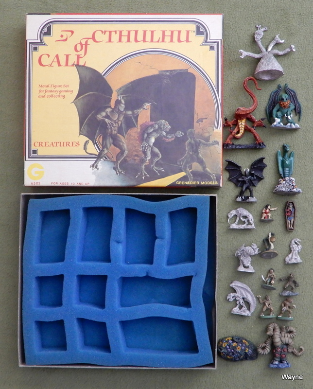 Image for Grenadier Call of Cthulhu Creatures (Metal Miniatures) + Bonus Minis!