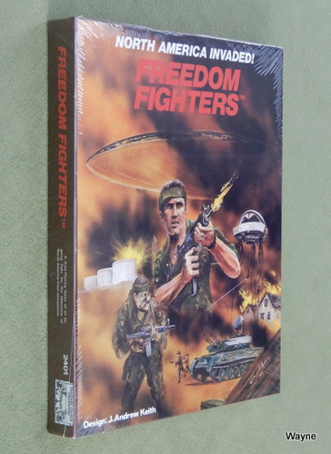 Image for Freedom Fighters RPG