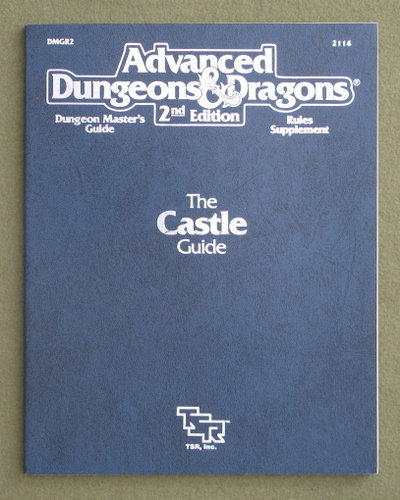 Image for Castle Guide (Advanced Dungeons and Dragons Rules Supplement DMGR2)