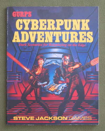 Image for GURPS Cyberpunk Adventures