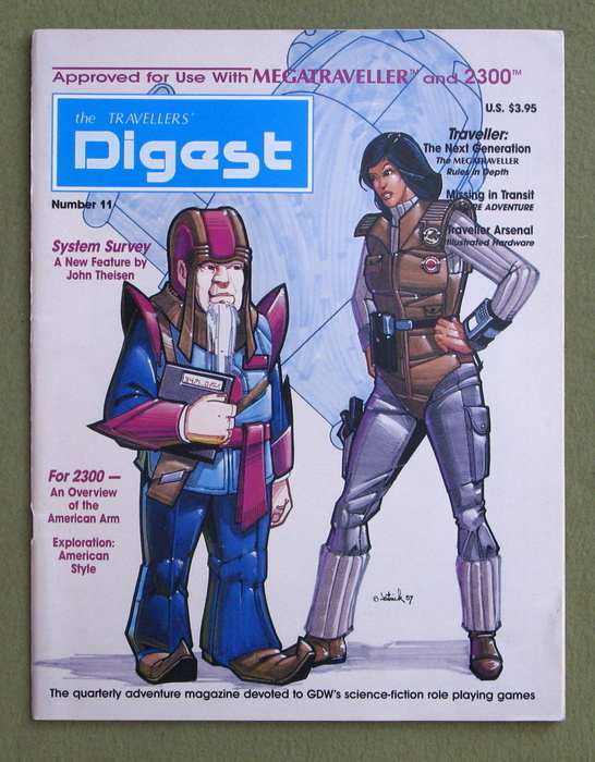 Image for Travellers' Digest, Issue 11 (Traveller/Megatraveller)