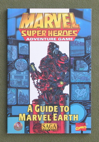 Image for A Guide to Marvel Earth (Marvel Super Heroes Adventure Game)