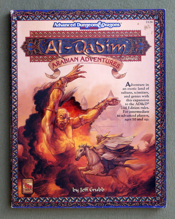 Image for Al-Qadim: Arabian Adventures (Advanced Dungeons & Dragons)