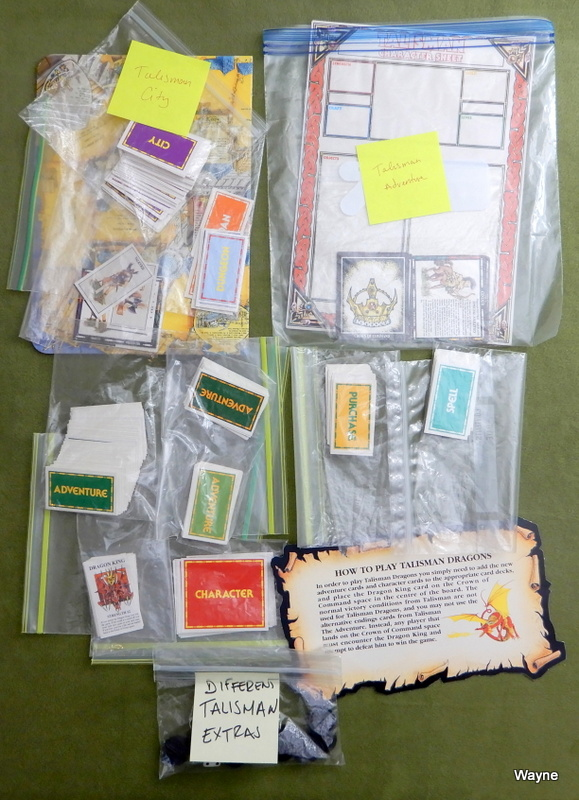 Image for Talisman Parts Lot: Various Cards and Pieces from Main Set and Expansions