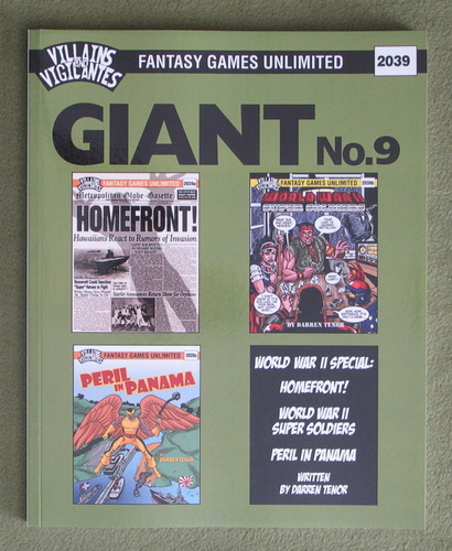 Image for Villains and Vigilantes: Giant No. 9