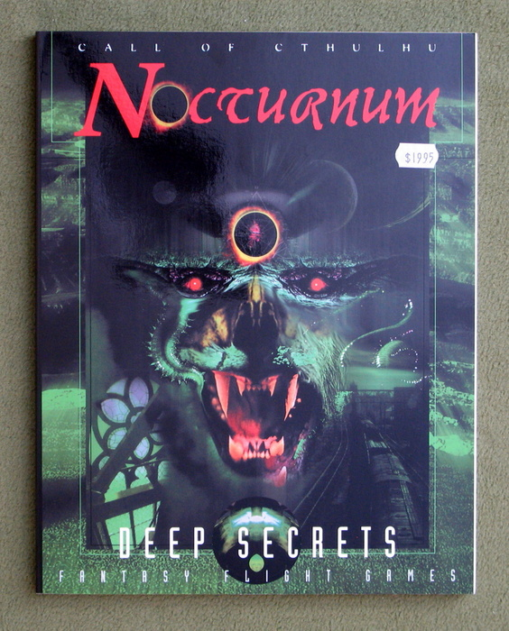 Image for Nocturnum: Deep Secrets (Call of Cthulhu)