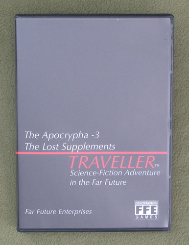 Image for Traveller Apocrypha-3: The Lost Supplements