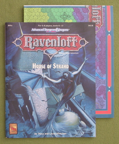 Image for House of Strahd (Advanced Dungeons & Dragons: Ravenloft Adventure RM4)