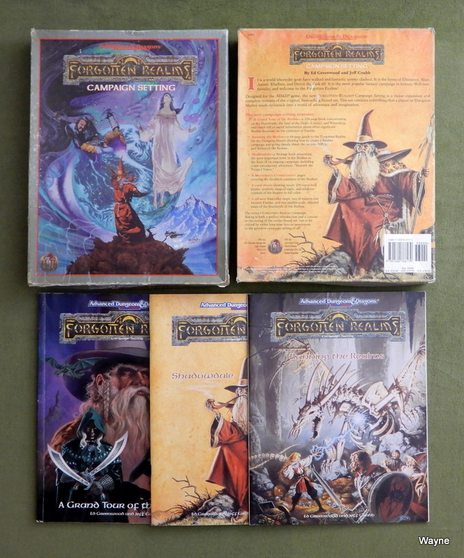 Image for Forgotten Realms Campaign Setting (Advanced Dungeons & Dragons, 2nd Edition) - INCOMPLETE