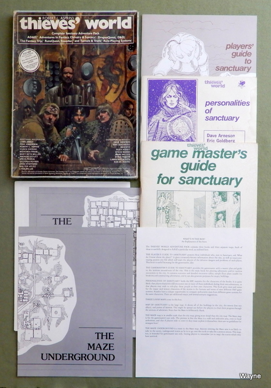 Image for Thieves World Roleplaying Game: Complete Sanctuary Adventure Pack - PLAY SET