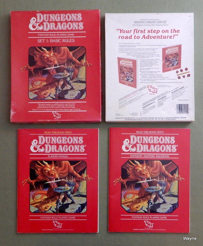 Image for Dungeons & Dragons Basic Rules, Set 1