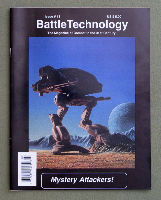 Image for BattleTechnology Magazine, Issue 13 (Battletech)