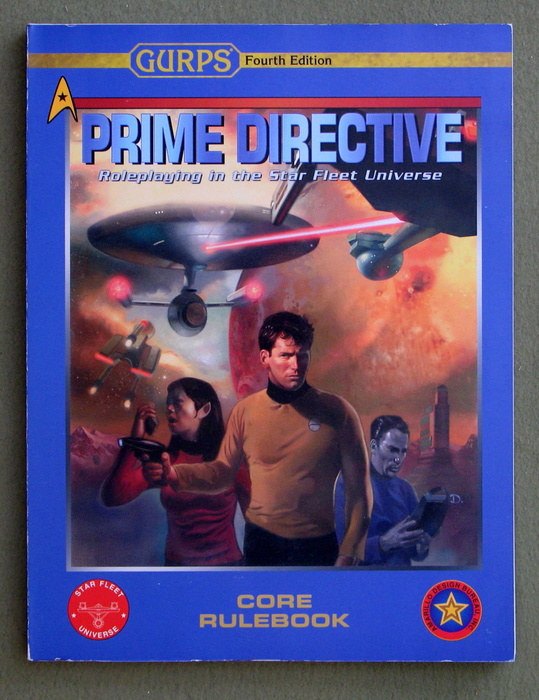 Image for GURPS Prime Directive Core Rulebook: Roleplaying in the Star Fleet Universe (GURPS 4th Edition)
