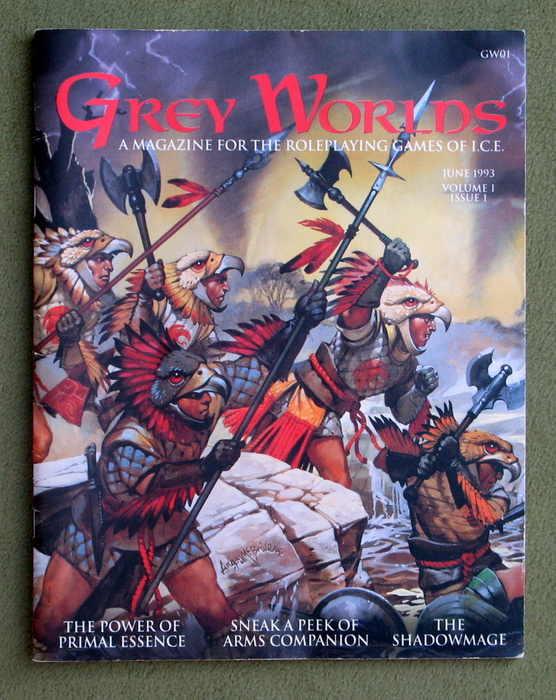 Image for Grey Worlds Vol. 1 Issue 1 (A Magazine for the games of Iron Crown Enterprises)