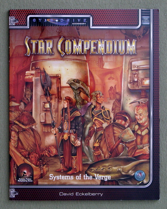 Image for Star Compendium: Systems of the Verge (Alternity Sci-Fi Roleplaying, Star Drive Setting)