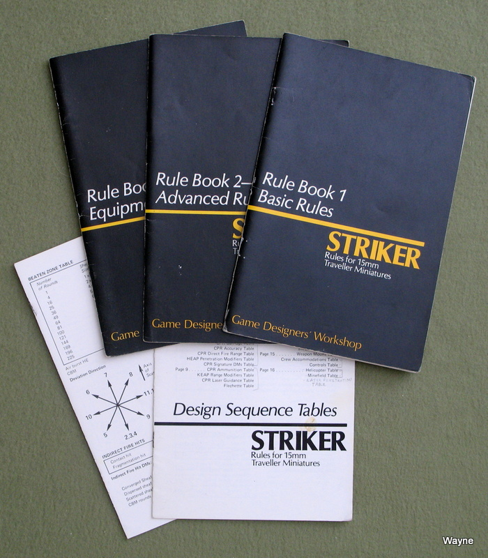 Image for Striker: Rules for 15mm Traveller Miniatures - NO BOX - PLAY SET