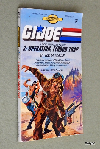 Image for Operation: Terror Trap (G.I. Joe: Find Your Fate #3)