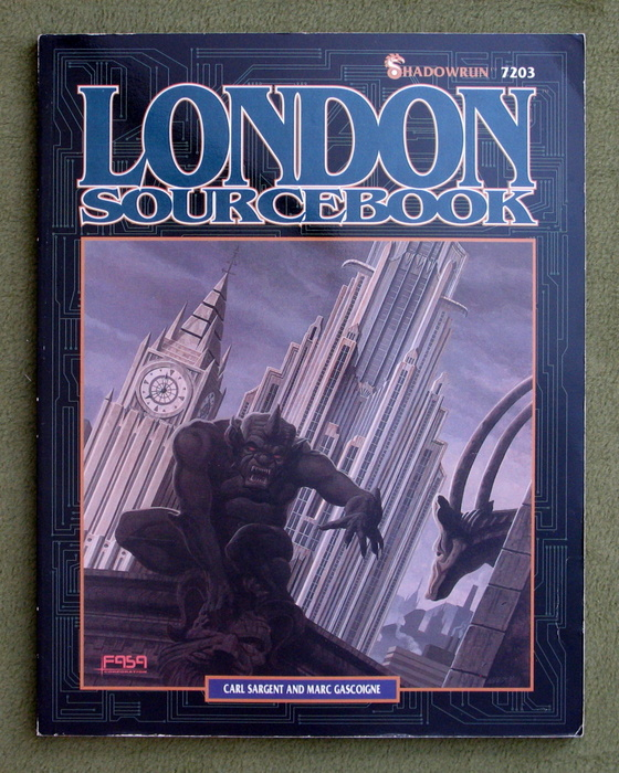 Image for London Sourcebook (Shadowrun)