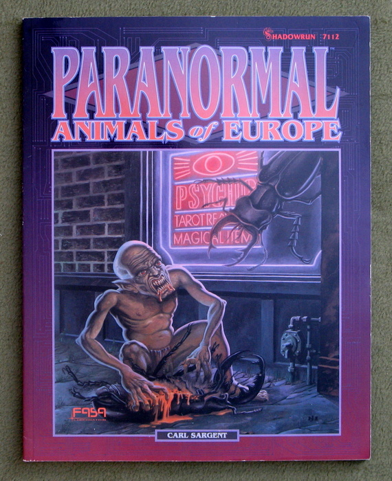 Image for Paranormal Animals of Europe (Shadowrun)