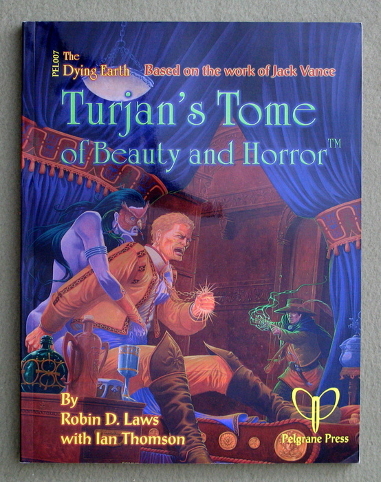 Image for Turjan's Tome of Beauty and Horror (Jack Vance's Dying Earth)