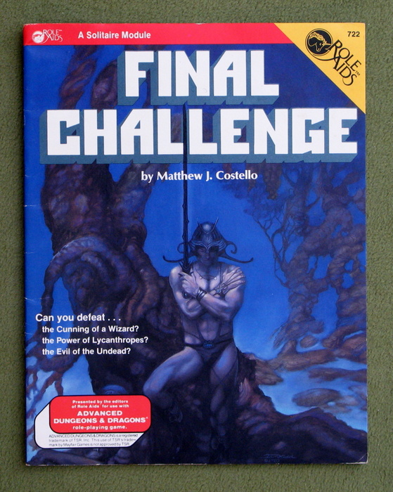 Image for Final Challenge (Advanced Dungeons & Dragons: Role Aids)