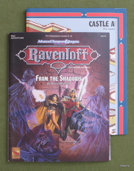 Image for From the Shadows (Advanced Dungeons & Dragons: Ravenloft module RQ3)