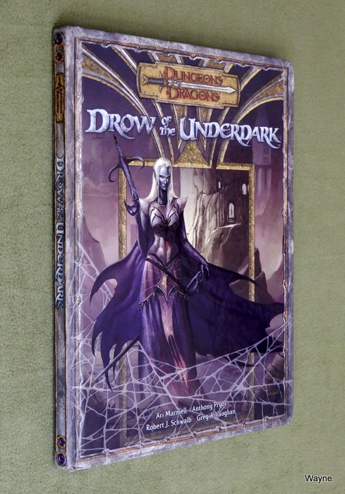 Image for Drow of the Underdark (Dungeons & Dragons d20 3.5 Fantasy Roleplaying)